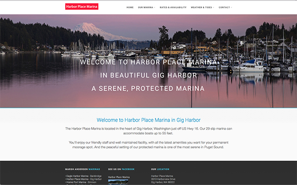 Harbor Place Marina - Gig Harbor, WA